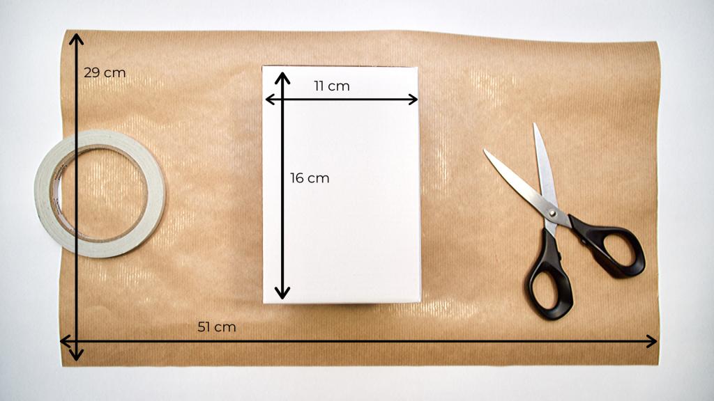 Przykładowe wymiary papieru
